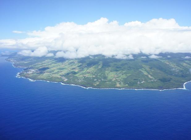 La Réunion vue du ciel - Photo CE