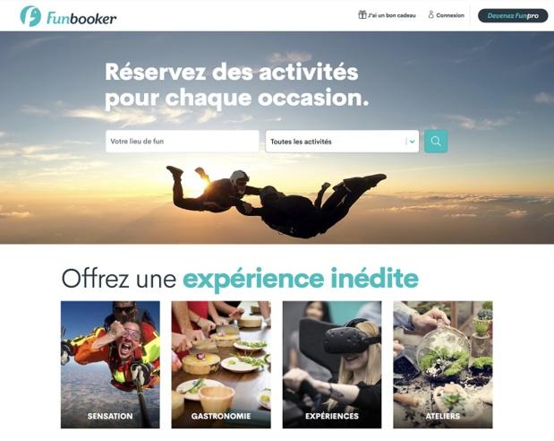 Funbooker met en lumière tout un éventail d'activités de loisirs proposées par des professionnels directement au grand public, avec la possibilité de réserver en ligne - DR : FunBooker