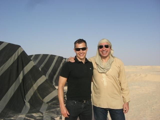 Hier, dans le grand sud tunisien Mehdi Houas ministre du Tourisme et du Commerce et Boris Boillon ambassadeur de France à Tunis