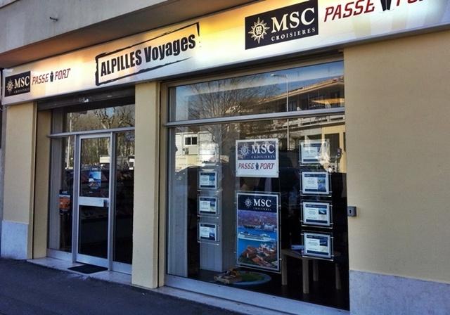 Aix-en-Provence : « MSC Passe-Port » embarque avec Alpilles Voyages