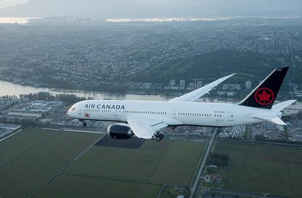 Air Canada, le vol sans escale Paris-Vancouver revient en 2019 - Crédit photo : Air Canada