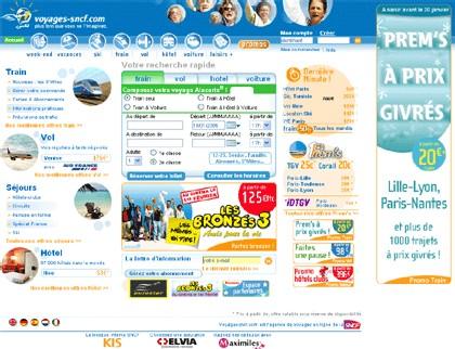 Voyages-Sncf.com : le volume d'affaires passe le cap du milliard d'euros