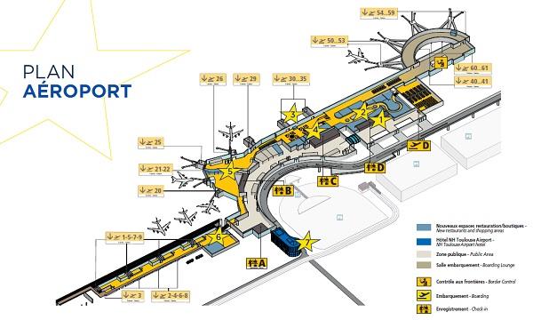 L'aéroport de Toulouse se dévoile après 2 ans de travaux - Crédit photo : Aéroport de Toulouse Blagnac