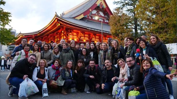 Les participants du Trophée April Japon © Laurie Medina / TourMaG