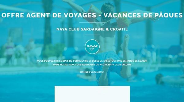Naya Club : une offre spéciale pour les agents de voyages - Crédit photo : Naya Club