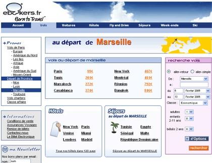 Micro site au départ de Marseille