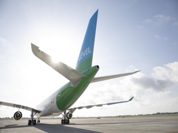 Depuis Paris, Level vole à bas coûts vers New York, les Antilles et Montréal © Level IAG