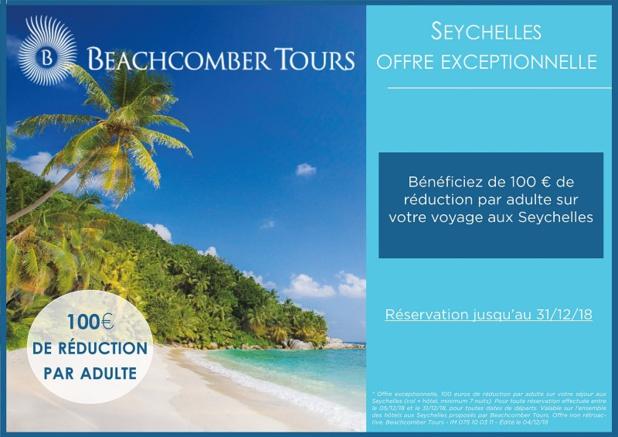 Beachcomber Tours lance une opération spéciale sur Les Seychelles