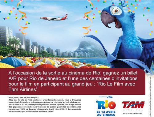 TAM Airlines : grand jeu concours pour les agents de voyages