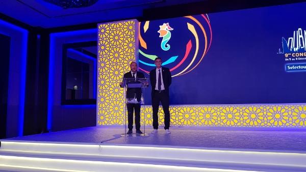 """Laurent Abitbol annonce : """"nous allons changer la donne. Nous allons transformer NDC qui, au début, était une catastrophe en gain d'argent supplémentaire"""" lors du congrès Selectour 2018 - DR : C.E."""