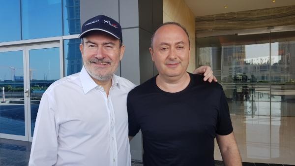 Laurent Magnin et Laurent Abitbol au congrès Selectour à Dubaï - Crédit photo : CE