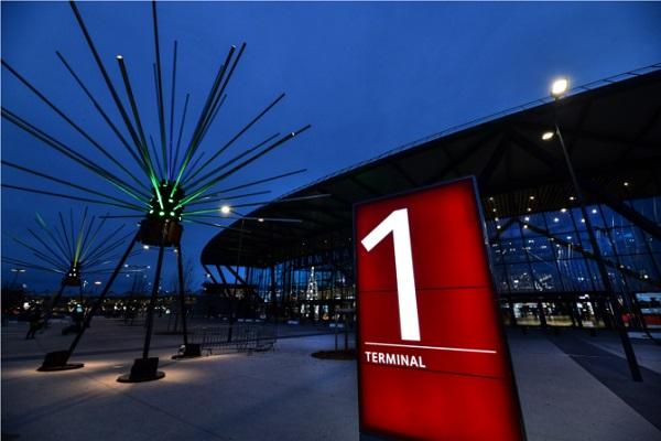 La Fête des Lumières selon l'Aéroport de Lyon - Crédit photo : © Eric Soudan/Aéroports de Lyon
