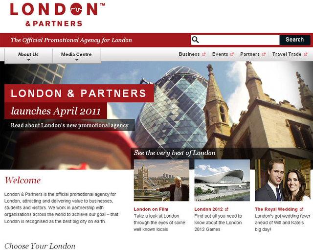 Londres : nouvelle agence de promotion de la ville