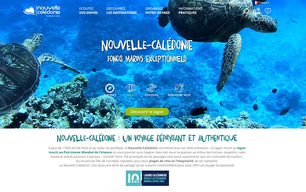 Nouvelle-Calédonie, Interface Tourism représentera la destination en Europe - Crédit photo : NCT