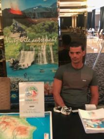 Simon Vincent, représentant de Bourbon Voyages au workshop organisé à Dubaï lors du congrés - DR