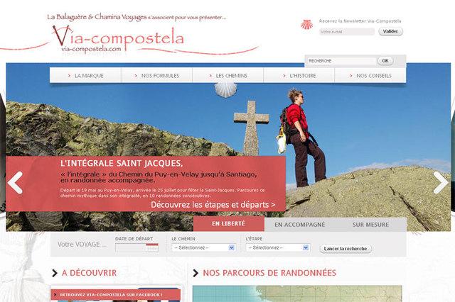 Nouvelle marque et site Internet pour les Chemins de St-Jacques
