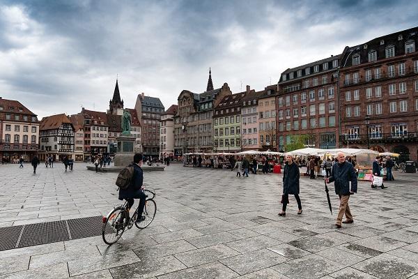 La place Kléber de Strasbourg - Crédit photo : Pixabay, libre pour usage commercial