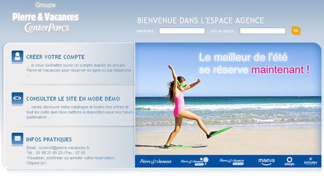 Pierre et Vacances lance son nouveau site B2B