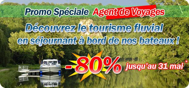 Tourisme fluvial : France Passion Plaisance lance une offre spéciale AGV