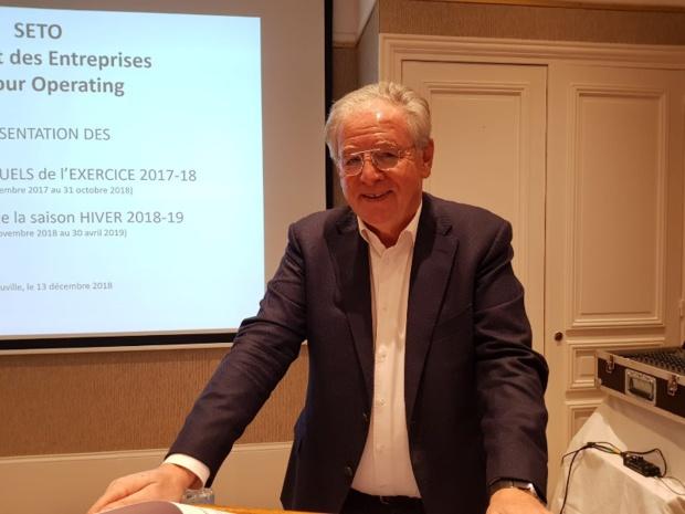 """René-Marc Chikli, président du SETO : """"Le marché est en redémarrage et nous nous sommes bien positionnés"""" - Photo AB"""