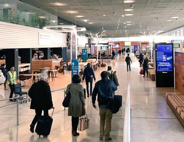 Photo Twitter Aéroport Toulouse