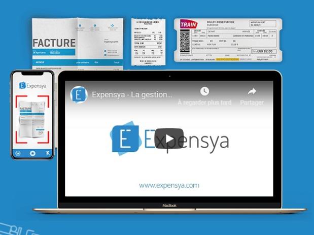 Expensya commercialise une solution d'automatisation de la gestion des notes de frais - DR