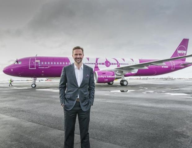 """""""C'est le jour le plus difficile de l'histoire de WOW air"""", a déclaré Skúli Mogensen, fondateur et P-DG de la compagnie, alors que 111 employés ont été licenciés - DR : WOW Air"""