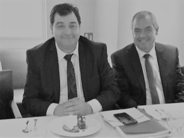 René Trabelsi, le nouveau Ministre du Tourisme de Tunisie et, à sa droite, Sami Gharbi, directeur de l'ONTT pour la France - DR : M.S.