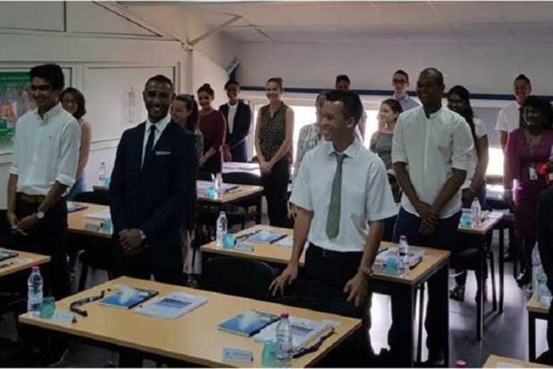 En 2017, Air Austral a créé son école destinée aux personnels navigants commerciaux (PNC) au sein de son siège social à La Réunion. Depuis octobre 2018, elle propose des sessions de formations d'Agent d'Escale Commerciale. - DR Air Austral
