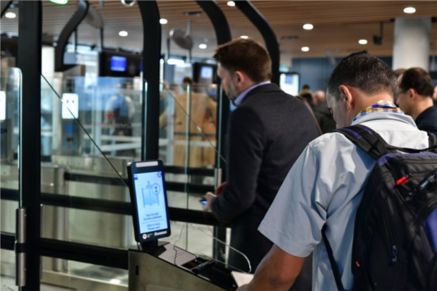 Le déploiement de 10 sas complémentaires est programmé au premier trimestre 2019 - DR Aeroports de Lyon