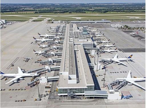 L'aéroport de Munich, l'un des hubs de Lufthansa - DR