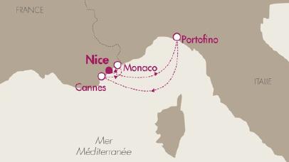 La Compagnie du Ponant fait gagner des places aux essais du Grand prix de Monaco