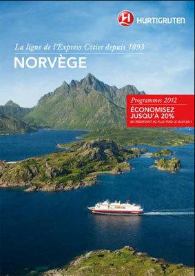 Hurtigruten fait paraître une brochure Norvège en avant-première