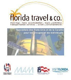 L'agence Florida Travel & Co votre réceptif francophone pour l'organisation de vos circuits Groupes aux Etats-Unis.