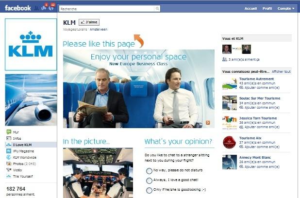 KLM va recouvrir un de ses avions avec des photos de ses « amis » Facebook