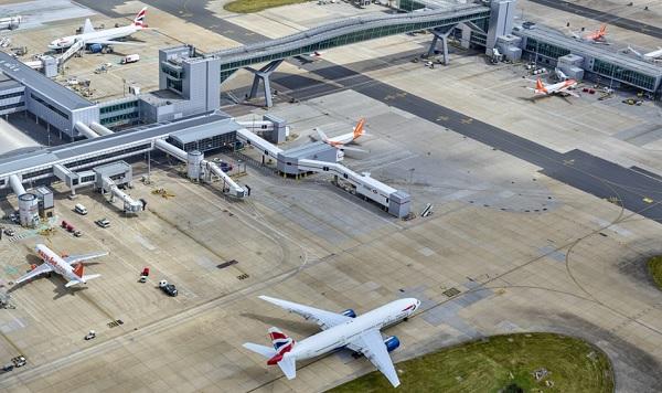 Vinci Airports a acheté 50,1% des parts de l'aéroport de Gatwick, avant d'engager les manœuvres pour Paris - Crédit photo : Vinci Airports