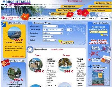 Mousquetaires Vacances : les ventes en ligne représentent 10% du chiffre d'affaires