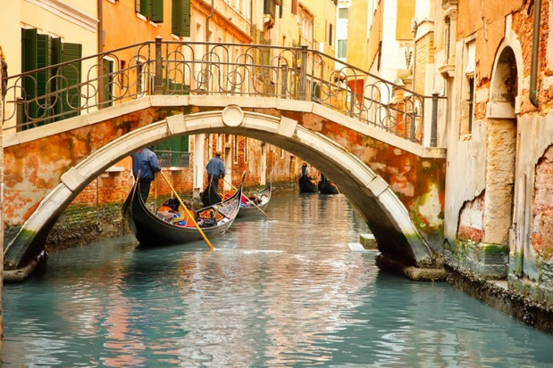 Les canaux de Venise - Photo DepositPhotos.com sborisov