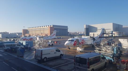 Les deux appareils ATR livrés le 31 décembre 2018 à Mayotte - DR