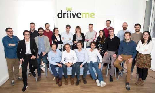 DriiveMe vient de mettre la main sur la plateforme 1Rent, qui comptabilise plus de 300 000 trajets effectués depuis sa création - DR : DriiveMe