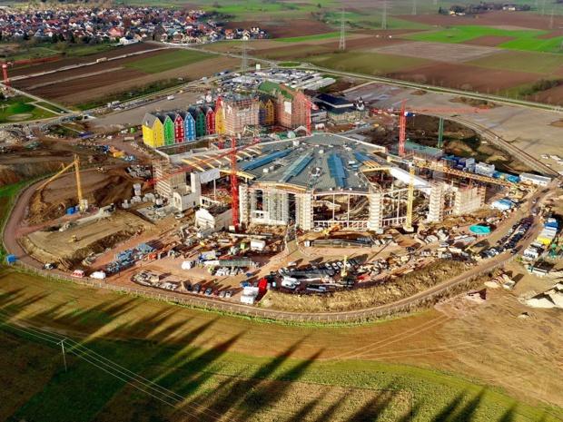 L'année 2018 a été marquée par d'importants investissements pour la construction du nouvel univers aquatique « Rulantica » prévu pour la fin de l'année 2019 - DR : Europa-Park