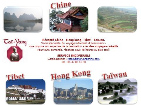 TAÏ-YANG votre Réceptif Chine