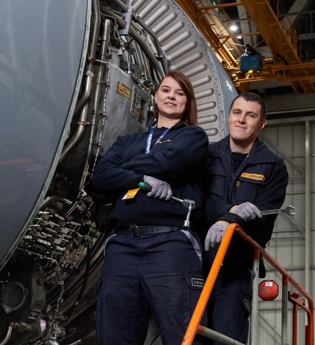 Le groupe allemand recrute également à la maintenance chez Lufthansa Technik en Allemagne, en Autriche, en Suisse et en Belgique. - Lufthansa
