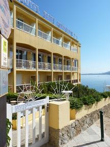 L'Hôtel Saint-Christophe à Calvi - DR : AL