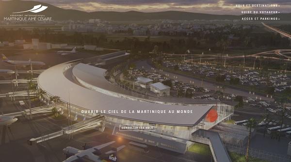 Aéroport Martinique : le trafic international a bondi en novembre 2018 - Crédit photo : DR