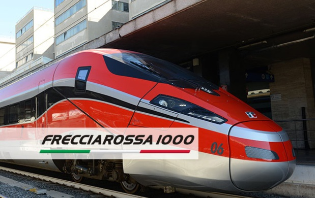 Les trains Frecciarossa 1000 - Photo Trenitalia