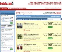 hotels.com se renforce sur l'Hexagone et lance le ''.fr''