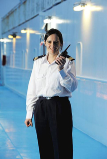 La Méridionale : Emmanuelle Jarnot, 1ere femme Commandant d'un navire pour la Corse