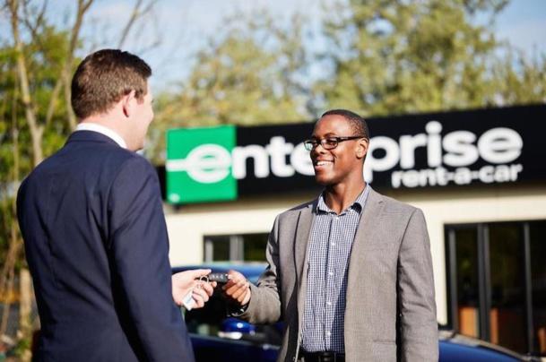 L'agence Enterprise de Fontainebleau a ouvert ses portes début décembre - DR