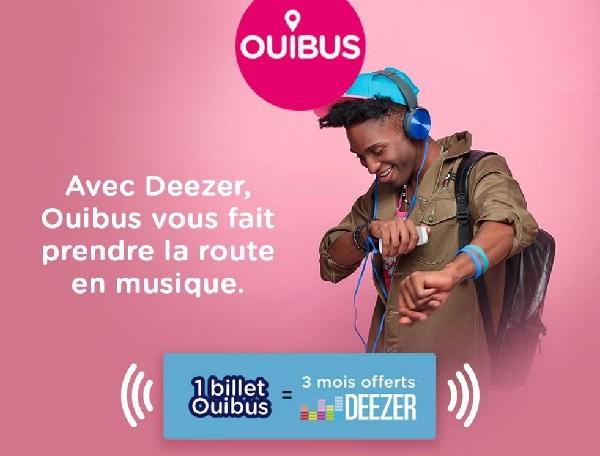 """Ouibus signe un partenariat """"longue durée"""" avec Deezer"""
